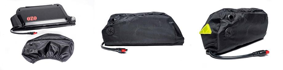 Housse de protection pluie pour batterie de cadre, pour vélo électrique