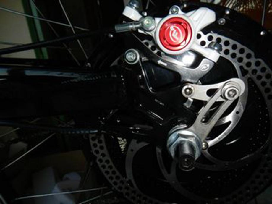Torque arm à visser pour moteur de vélo électrique 1