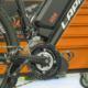 Moteur pédalier OZO sur vélo électrique
