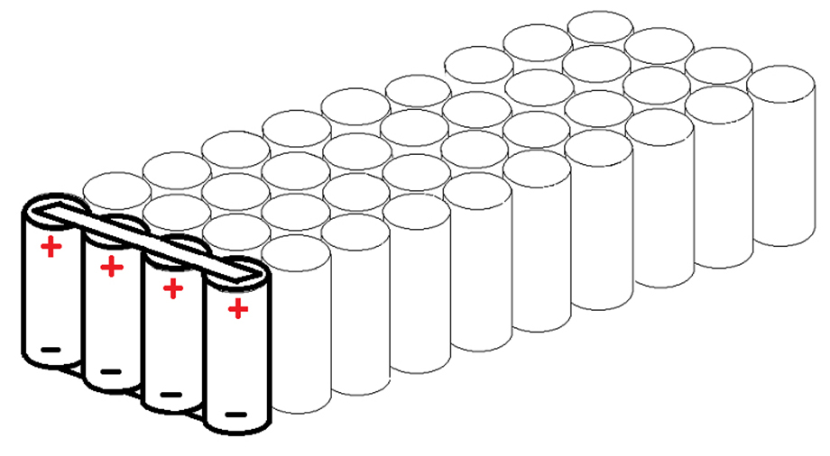 cellules batterie lithium en parallele