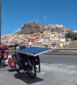 chargeur solaire vélo électrique