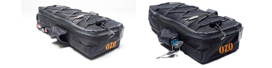 Sacoche de cadre 4.65L pour batterie de vélo électrique