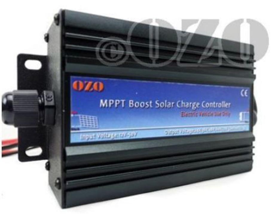 Chargeur générique OZO MPPT Boost 300W 24V-72V, pour recharger batterie au soleil