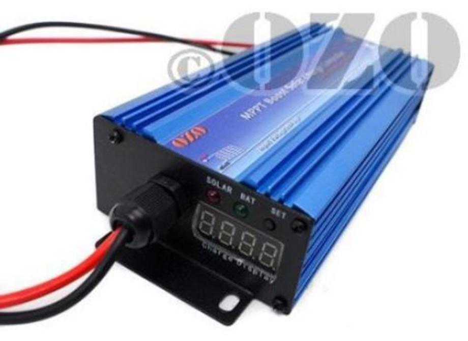Chargeur générique OZO MPPT Boost 600W 24V-72V pour recharger batterie au soleil