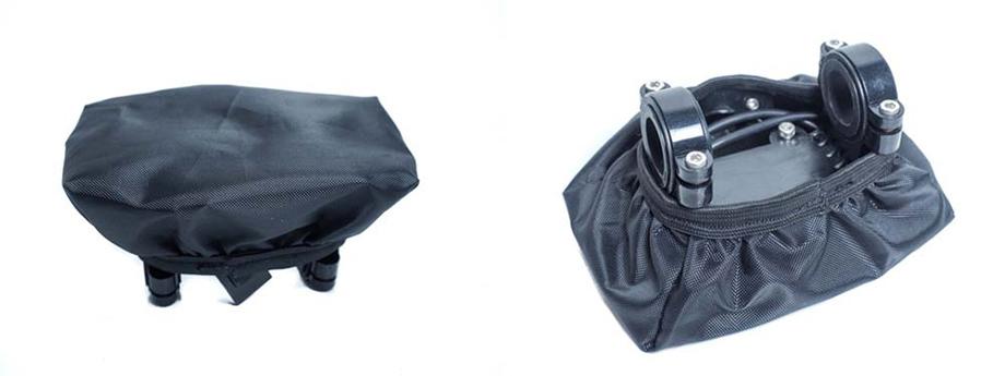 Housse de protection pluie pour guidon avec display/écran pour vélo électrique : protection écran uniquement