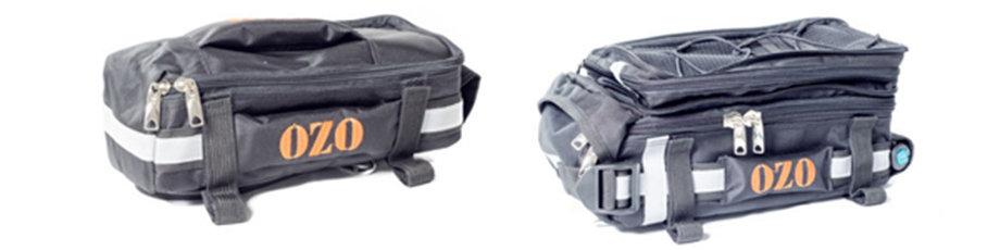 Sacoche porte bagages pour batterie de vélo électrique, avec et sans neiman