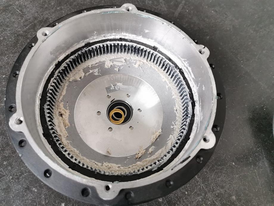 Rotor (rayonné sur la roue)