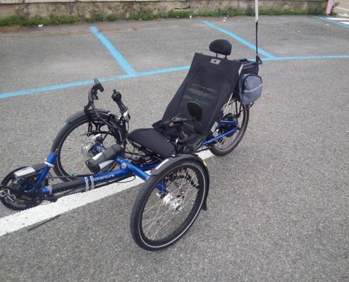 Trike CE Adventure électrique
